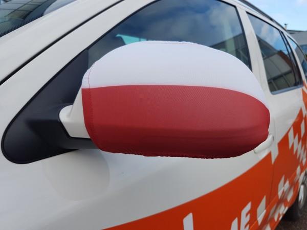 Autospiegel hoes Polen | 2 stuks