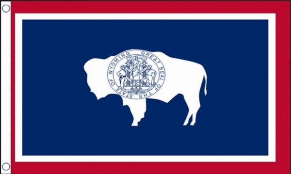 Vlag Wyoming