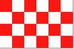 Noord-Brabantse vlag 100x150cm