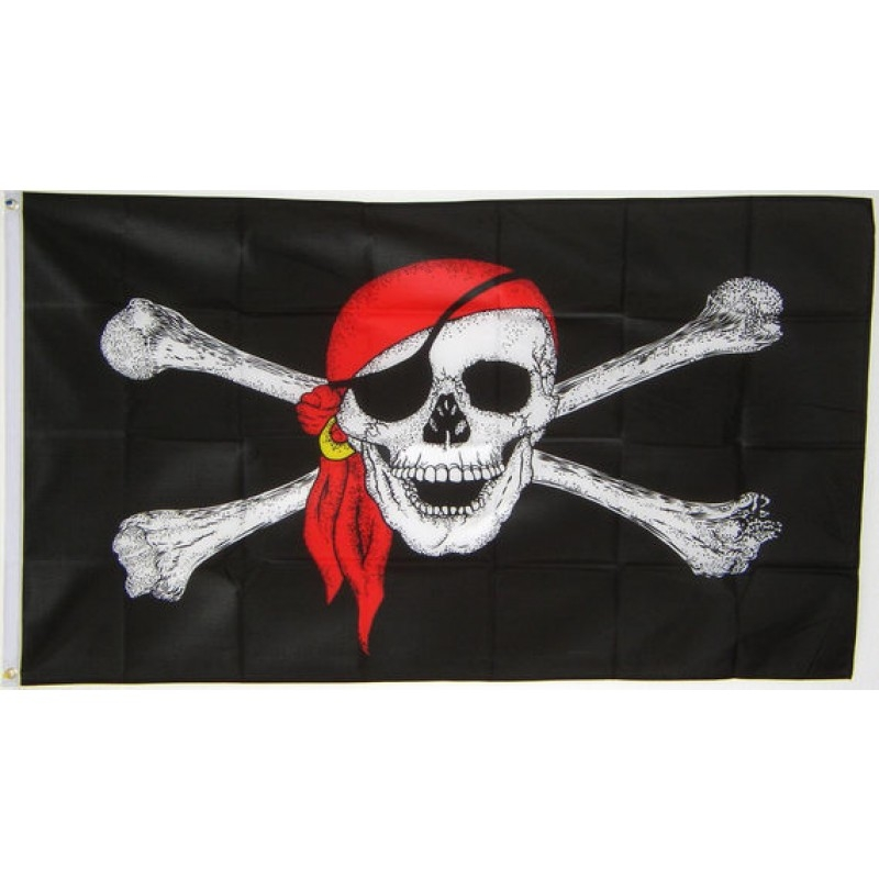 Piratenvlag XXL 150x240cm
