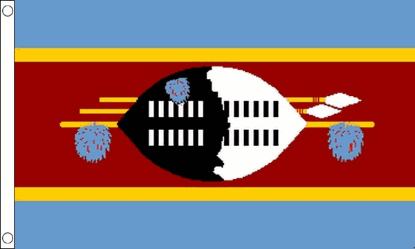 Vlag Swaziland 60x90cm