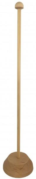 Standaard zonder pinvoor 1 tafelvlaggetje tafelstandaard met mast