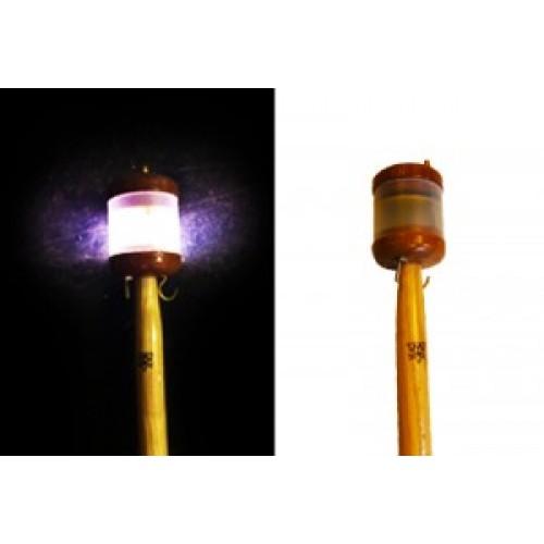 Vlaggenstok met LED verlichting essen 80cm
