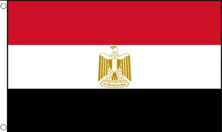 Egyptische vlag | vlaggen Egypte 90x150cm Best value
