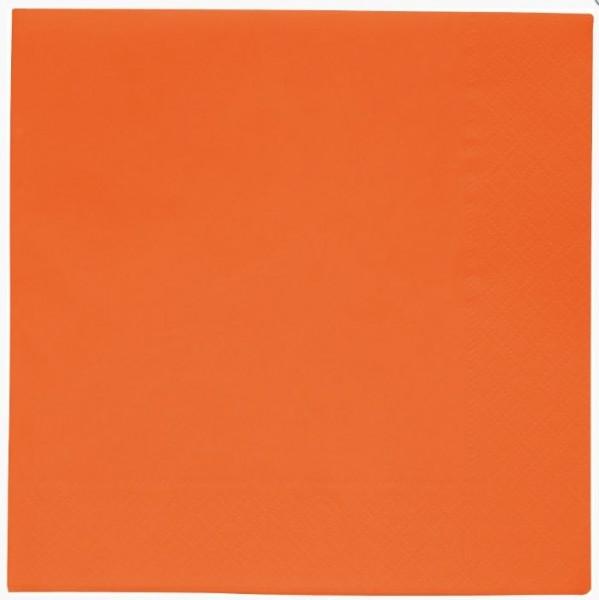 Oranje servetten 10 stuks