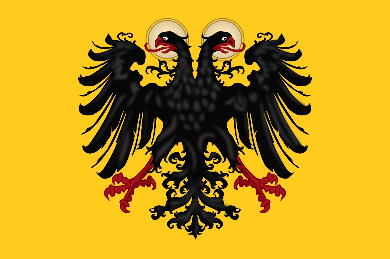 De eerste Duitse vlag