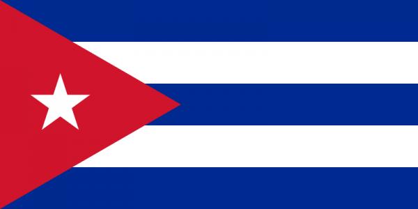 vlag Cuba | Cubaanse vlaggen gastenlandvlag 30x45cm