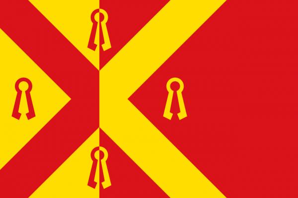 Grote bootvlag Gennep