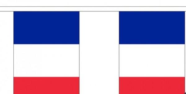 Vlaggenlijn Frankrijk Franse vlaggenlijnen 3m