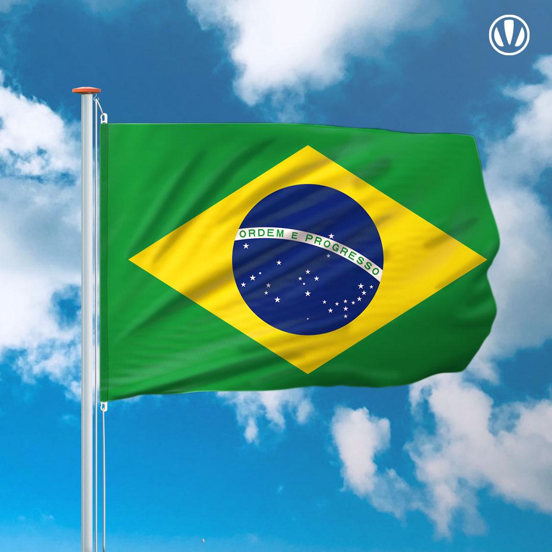 Vlag Brazilie kopen