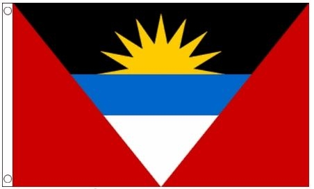 Vlag Antigua en Barbuda 90x150cm Best Value