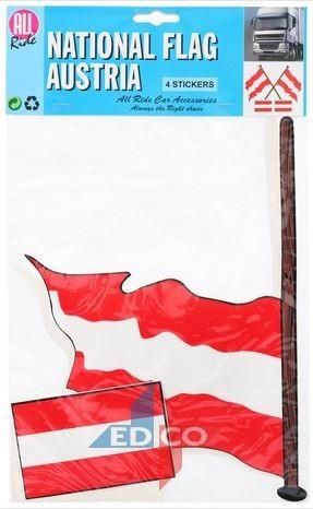 Stickers vlag Oostenrijk