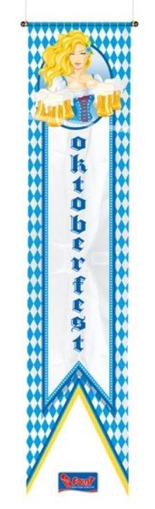 Wimpel banier Oktoberfest 40x180cm