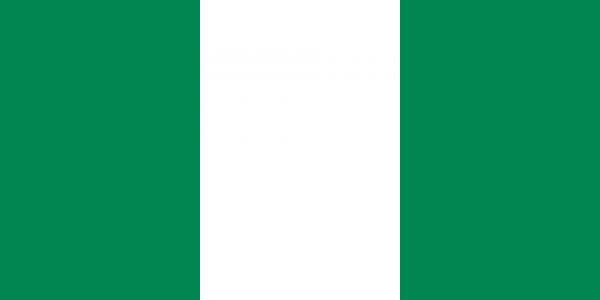 vlag Nigeria, Nigeriaanse vlaggen 100x150cm