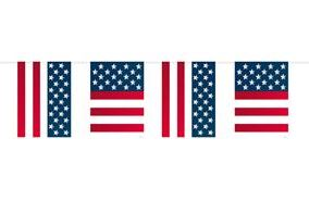 Vlaggenlijn Amerika USA Verenigde Staten 10m1
