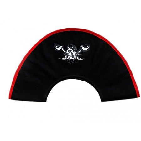 Piratensteek Red Pirate Piratenhoed