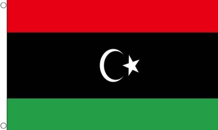 Vlag Libië I Libische vlaggen 90x150cm Best value