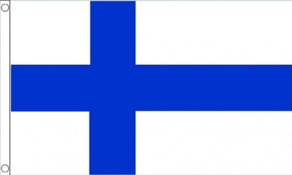 Finland vlag, vlaggen Finse XXL 150x240cm Best Value