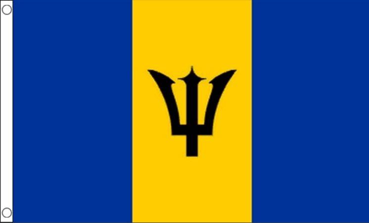 vlag Barbados I vlaggen van Barbados 90x150cm Best Value