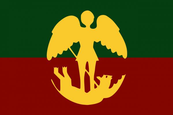 Grote vlag Brussel