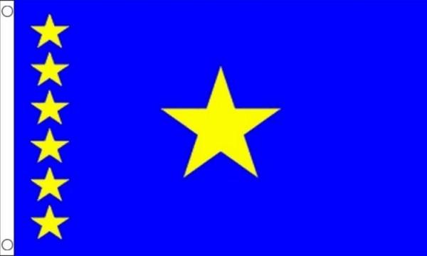 Vlag Congo Kinshasa 60x90cm