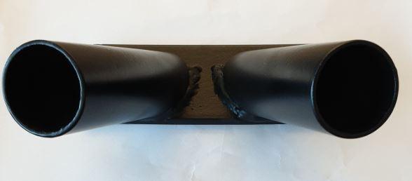 Vlaggenstandaard Zwart 30mm