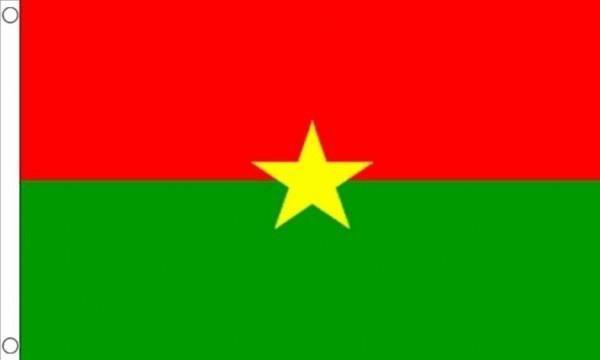 Vlag Burkina Faso 60x90cm