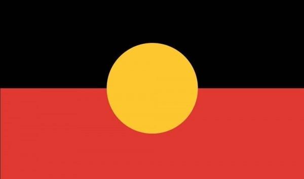Vlag Australische Aboriginal 90x150cm