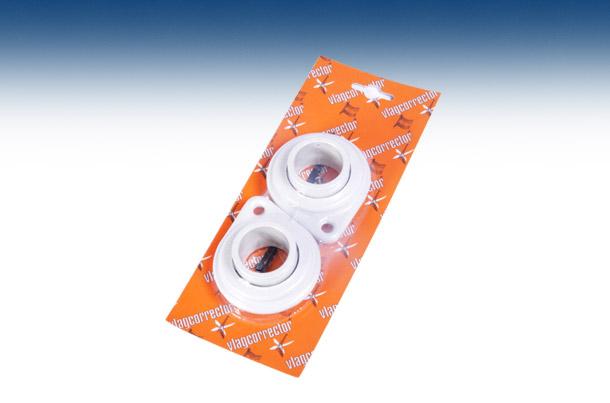 Vlagcorrector set voor vlaggenstok diameter 30mm