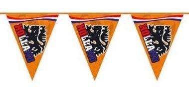 Vlaggenlijn brandvertragend 6 meter Oranje, Holland WK EK