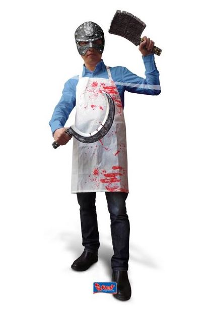 Bloederig schort Halloween, Horror bloederig