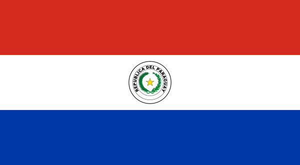 vlag Paraguay   Paraguayaanse vlaggen 150x225cm