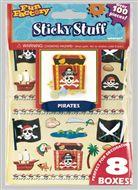 Piraten stickers Vlaggenclub