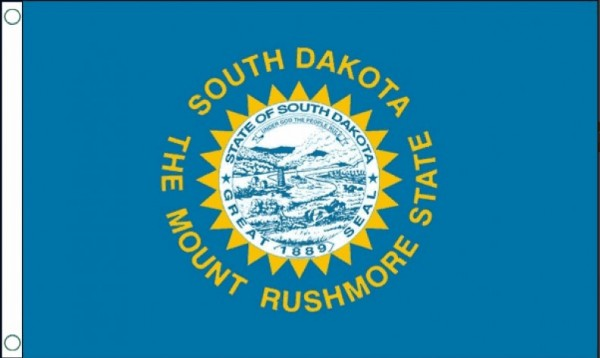 Vlag South Dakota