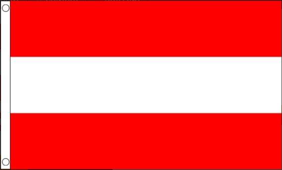 Oostenrijkse vlag | vlaggen Oostenrijk 60x90cm Best Value