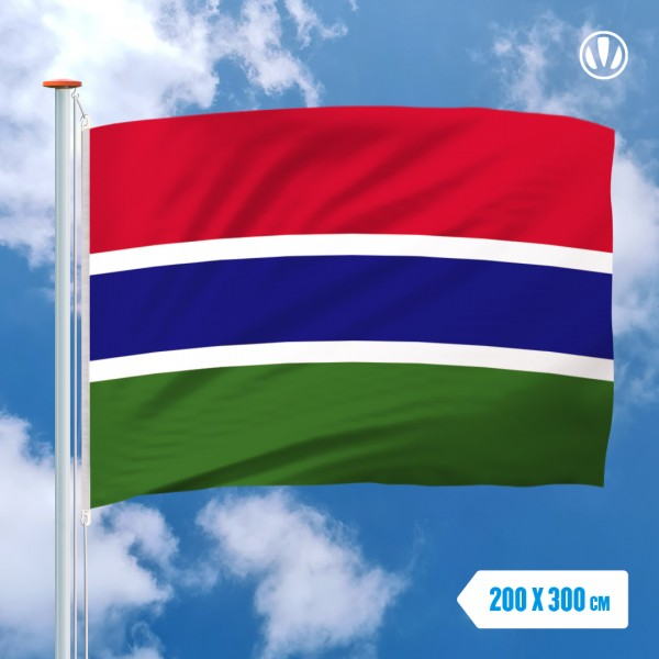 Grote Mastvlag Gambia