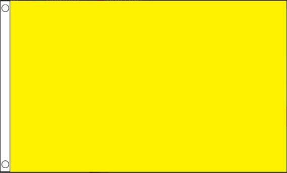 Gele vlag Geel 90x150cm Best Value