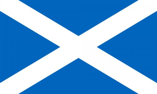 Tafelvlaggen Schotland 10x15cm   Schotse tafelvlag