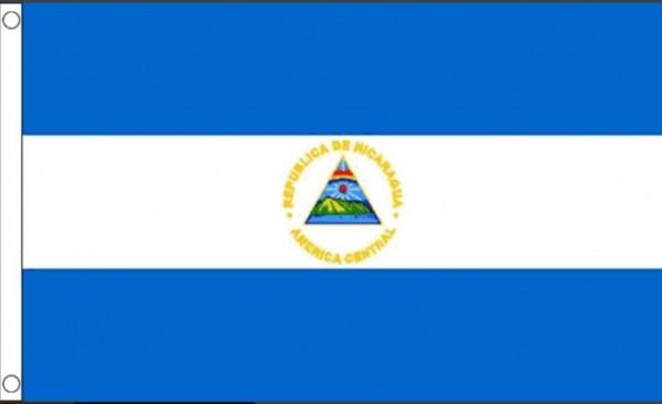 Vlag Nicaragua 60x90cm