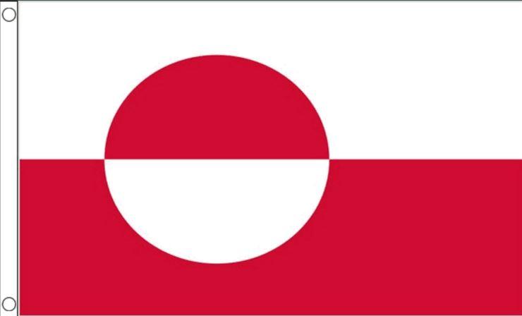 Vlag van Groenland 90x150 Best Value