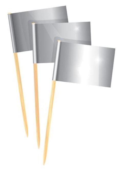 cocktailprikkers kaasprikkers zilver