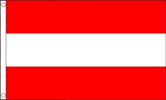 Oostenrijkse vlag | vlaggen Oostenrijk 90x150cm Best Value