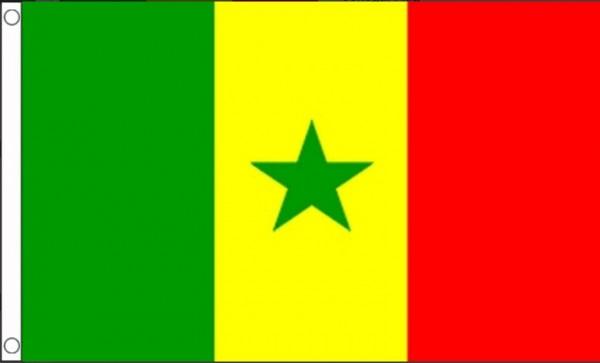 Vlag Senegal 90x150 cm
