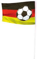 Duitse voetbalvlag Duitsland vlag 100x150cm