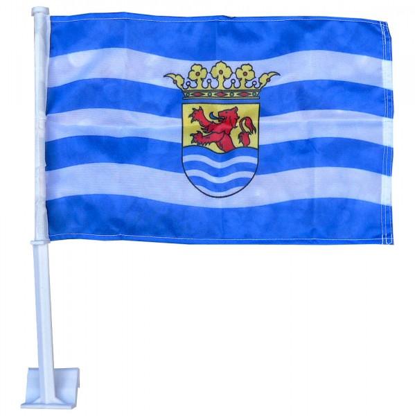 Autovlag Zeeland | luxe Zeeuwse autovlaggen