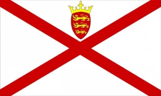 Tafelvlag Jersey tafelvlaggetje 10x15cm