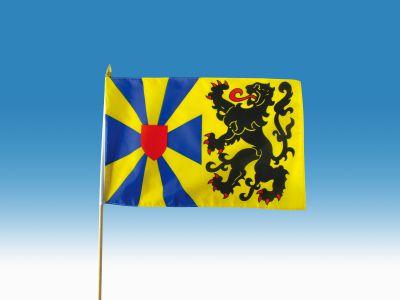 Zwaaivlag West Vlaanderen 30x45 zwaaivlaggen