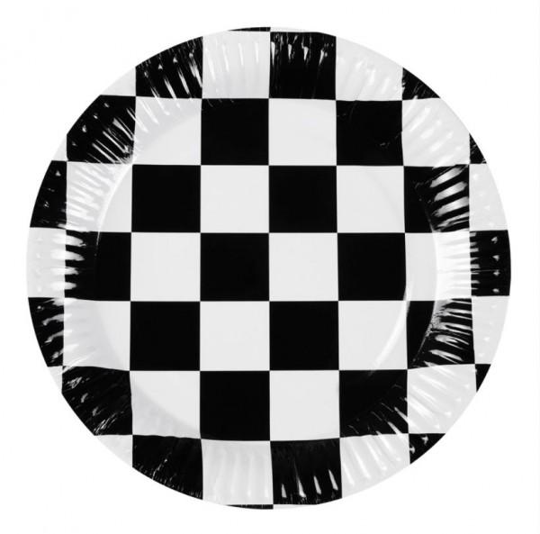 racing bordjes 23cm