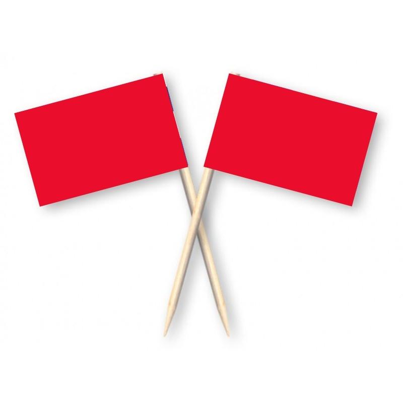 cocktailprikkers rood 50 stuks kaasprikkers en partyprikkers
