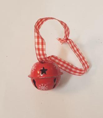 Rode kerstbel